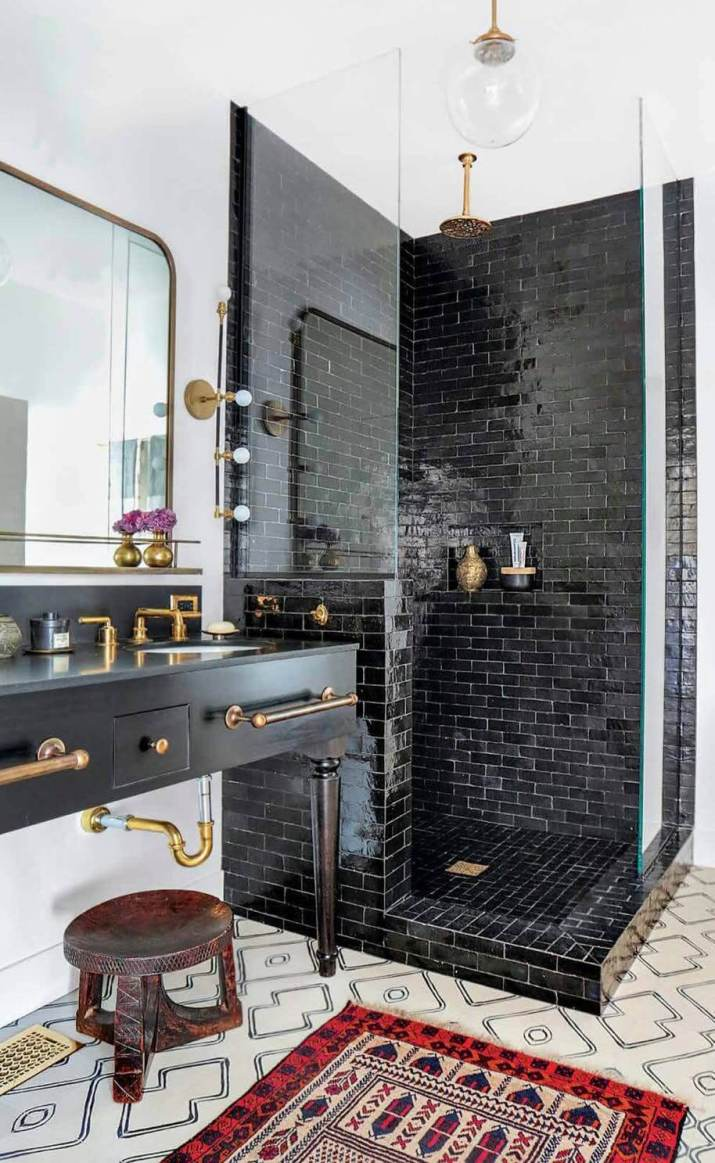 Functional & stylish large bathroom tiles ideas that will transform your bathroom for better a good daily mood