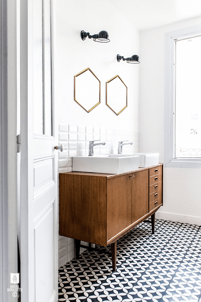 Refresh your home with these bathroom floor tile ideas that make sure inspire you to increase your bathroom beauty and get fixer upper style