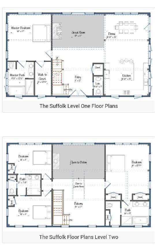 Best 2 story barndominium floor plans | benefit, cost / price and design. #barndominium #barndominiumfloorplans #barndominiumplans