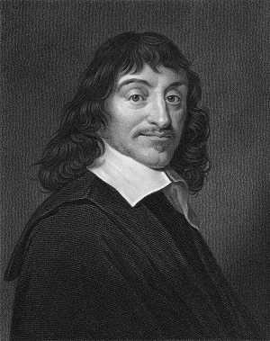 Rene Descartes Etching