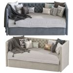 Children S Sofa Bed With Decorative Pillows Set 48 3d Model For Vray Corona