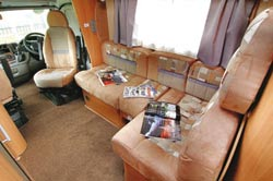 Swift Kon-Tiki front lounge