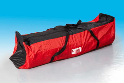 Fiamma F45 Bailey Alutech Awning in its case