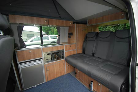 Reimo rear seating area