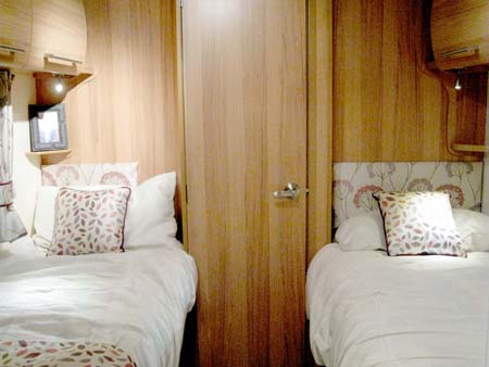 Bailey Pegasus GT65 Rimini Twin Beds