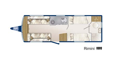 Bailey Pegasus GT65 Rimini Floor Plan