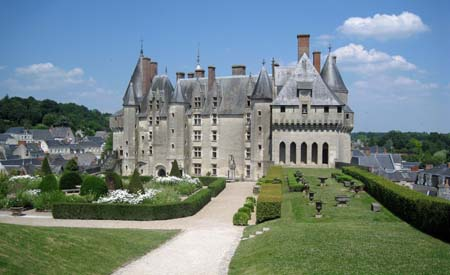 Langais Chateaux The Valley of the Kings in France