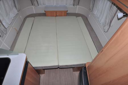 Eriba Touring 540GT - Double Bed