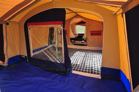 Trigano Galleon Camper interior 2