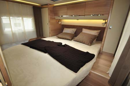 Adria Sonic Plus Bedroom