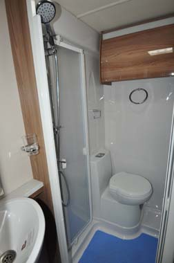Swift Bolero 684 Shower Room