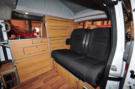 ENC Touring Cub Rear Seats