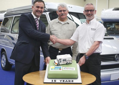 Caravan Guard + Brownhills celebrate 15 years working together
