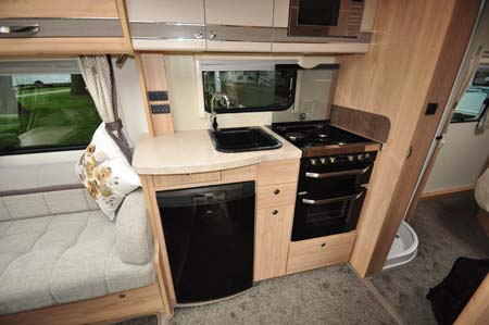 Elddis Crusader Aurora Kitchen