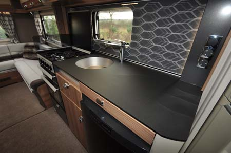 Swift Bolero 744 Kitchen1