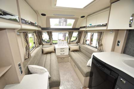 Sterling Eccles 480 Interior looking forward