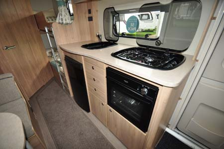 Elddis Xplore 586 Kitchen