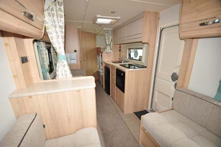 Elddis Xplore 586 interior looking back 2