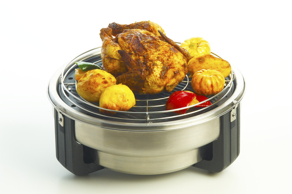 Olpro Safire Roaster with Roasting grid