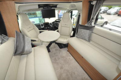 Auto-Trail Delaware HB Interior Lounge