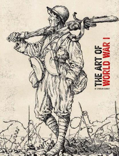 The Art of World War 1 Cover