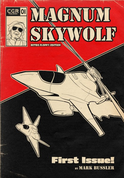 Magnum Skywolf #1 Cover