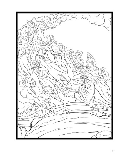 Dante's Inferno: The Coloring Book image 6