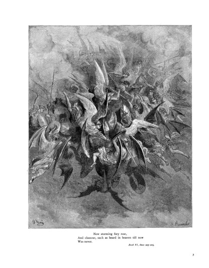 Milton's Paradise Lost: Gustave Doré Retro Restored Edition image 2