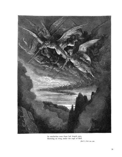 Milton's Paradise Lost: Gustave Doré Retro Restored Edition image 6
