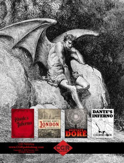 Milton's Paradise Lost: Gustave Doré Retro Restored Edition Back Cover