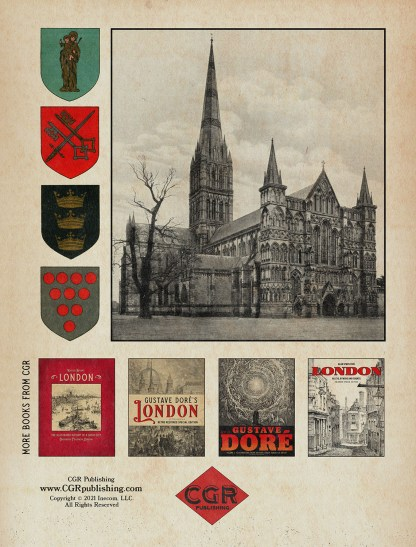 Historic Cathedrals of England: A Classic Illustrated Guide back cover