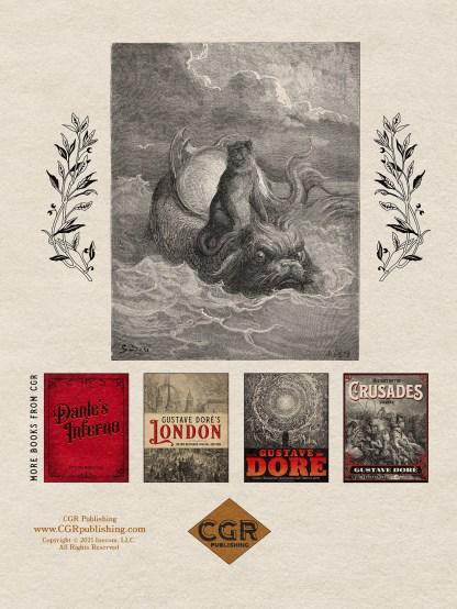 The Fables of Jean de La Fontaine Volume 1: Gustave Doré Restored Special Edition Back Cover