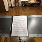 ナカノ トリプル楽譜シートホルダー