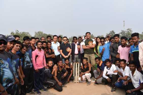 सामुदायिक खेल शीतकालीन टेनिस बाल क्रिकेट प्रतियोगिता का आयोजन, बालक आश्रम फुल्लोड़ की टीम रही विजयी
