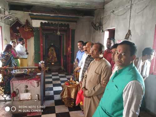 """""""मां दंतेश्वरी"""" के दरबार पहुंचे पूर्व संगठन मंत्री भाजपा, मांगा बस्तरवासियों के खुशहाली का आशीर्वाद"""