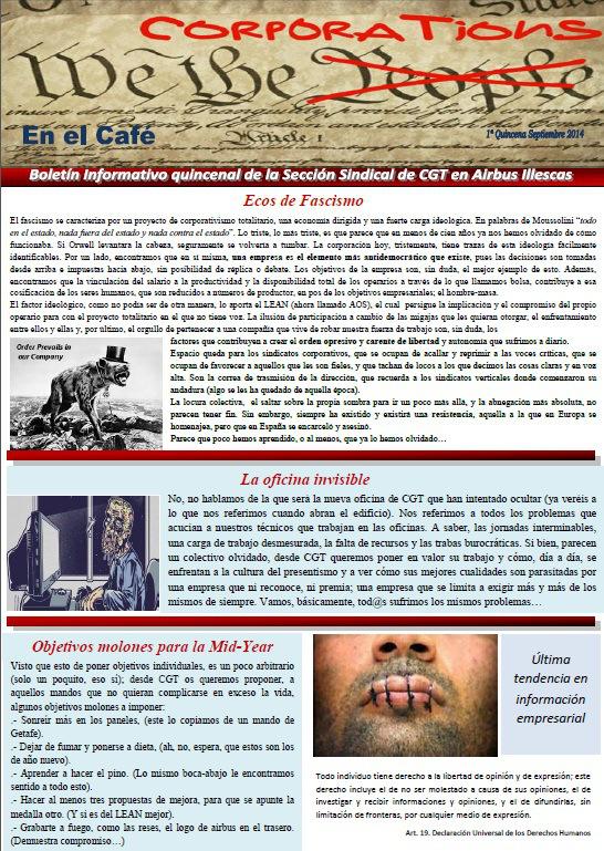 En el Café - 1ª quincena de Sept 2014