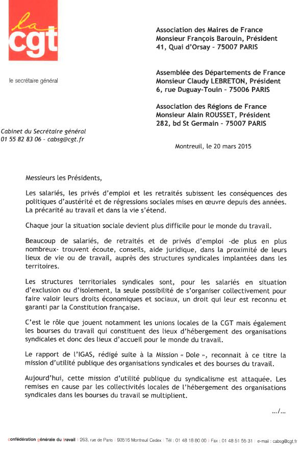 Lettre AMF 1