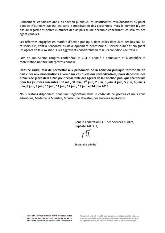 Lettre FSP 2