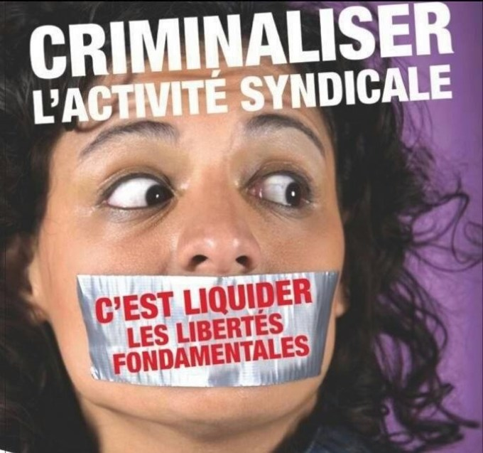 criminalisationactionsyndicale