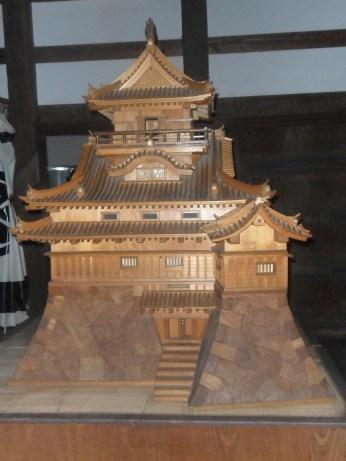 Inuyama castle: Model