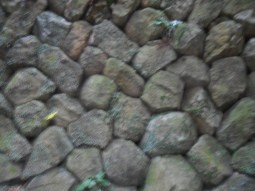 The masons from this region are famous for their high skill level in making rock walls.
