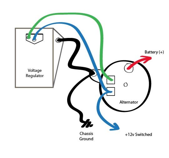 chrysler voltage regulator wiring diagram update
