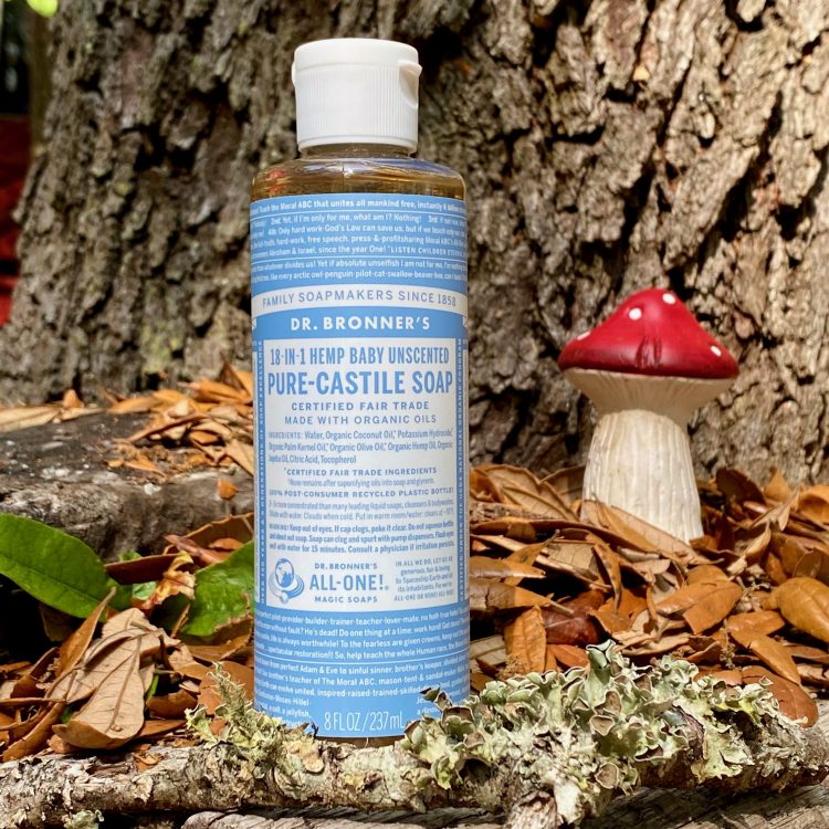 Dr. Bronner's 18-in-1 Castille Soap (8 oz)