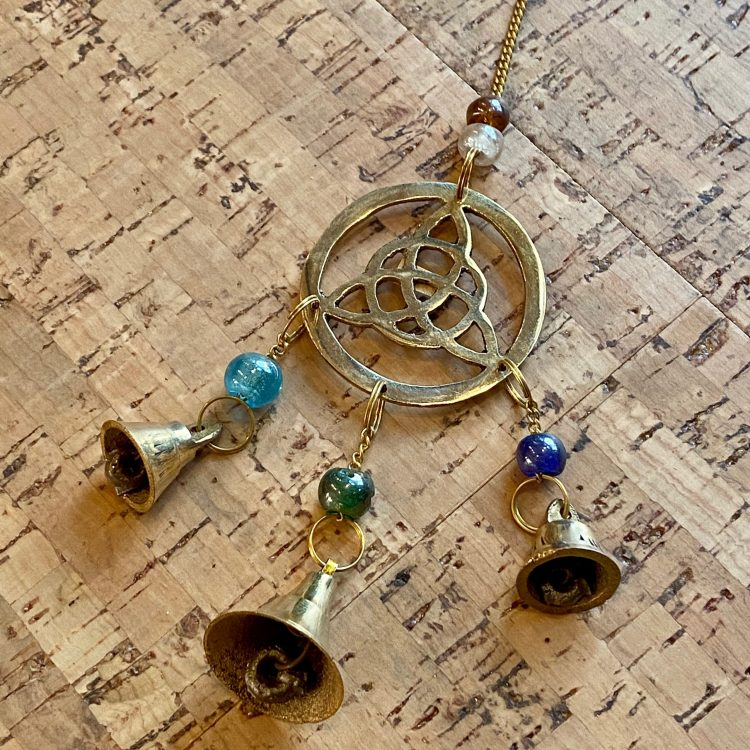 Triquetra Bell Wind Chime