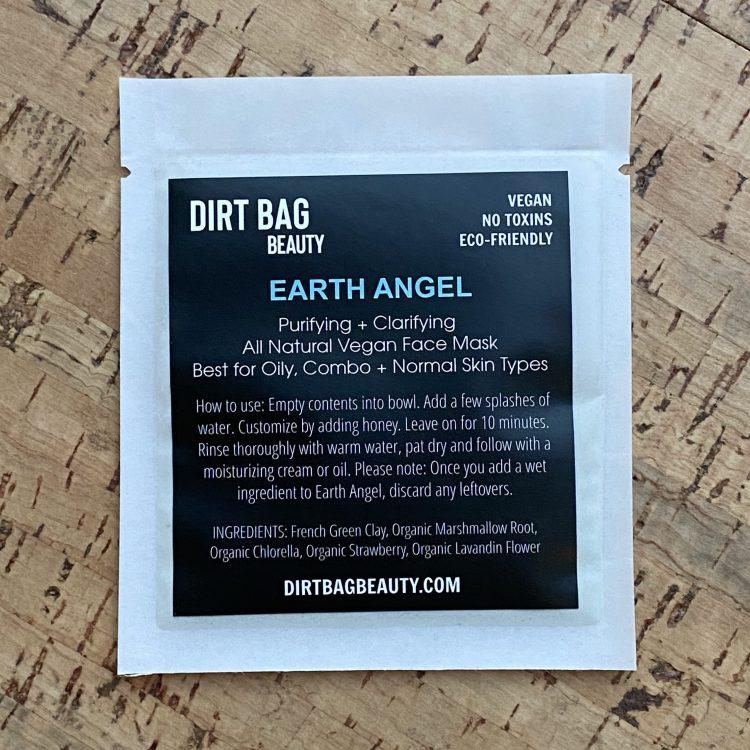 Vegan Facial Mask - Earth Angel (Single Use)