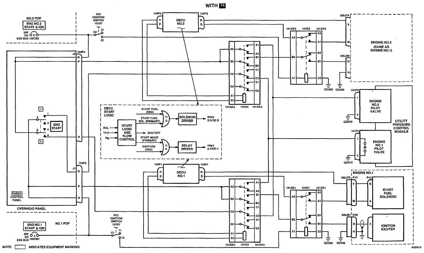 4 10 1 Engine Start And Ignition System Schematic Diagram