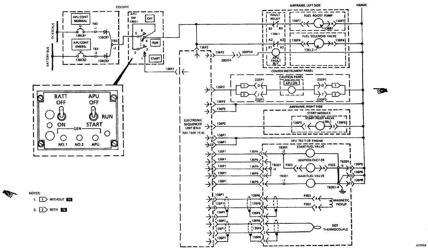Apu Electrical Schematic