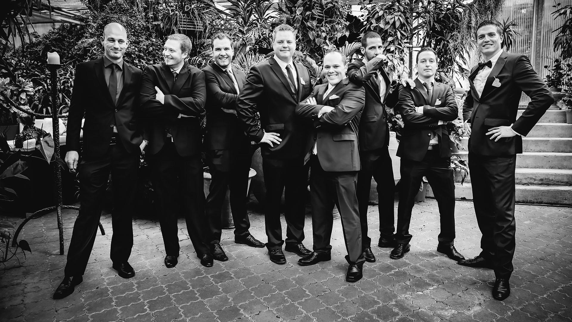 Gruppenbild Männer