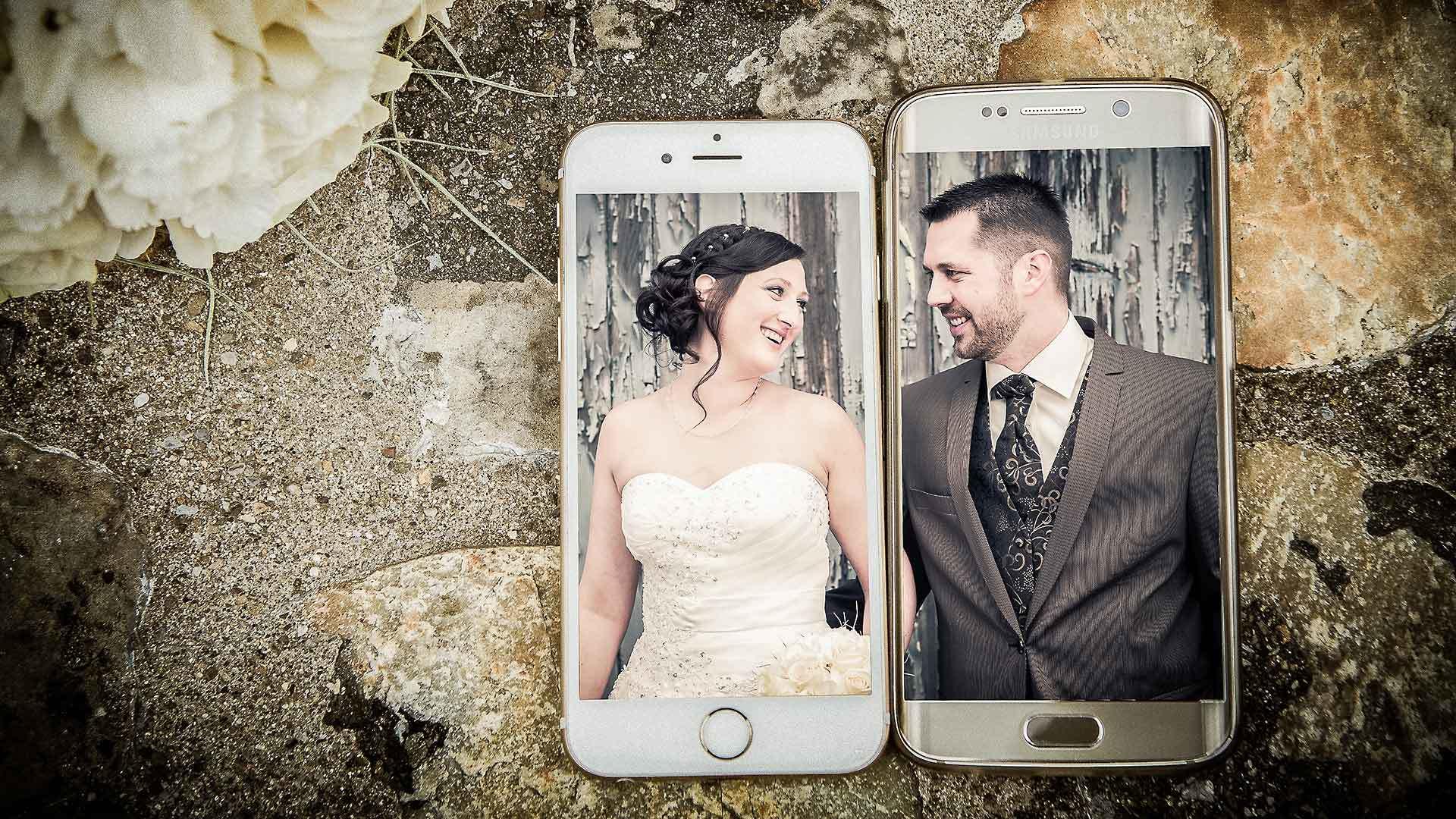Kreativer Hochzeitsfotograf