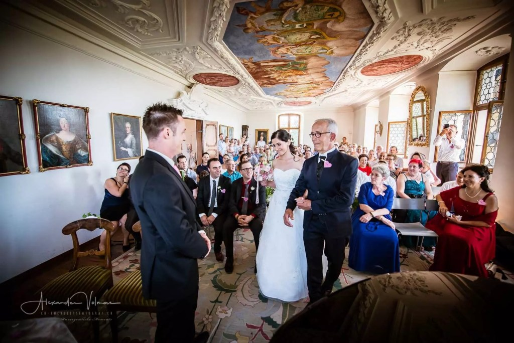 Brautübergabe - Hochzeitsfotograf